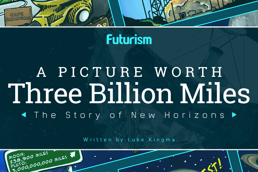 A Picture Worth Three Billion Miles [Comic]