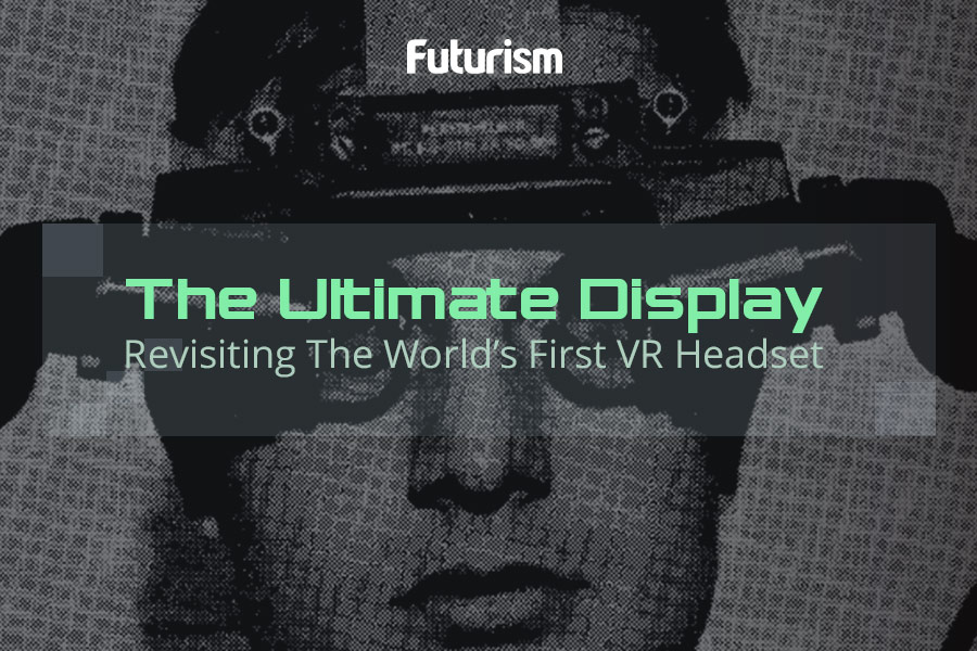 The World's First Virtual Reality Headset [INFOGRAPHIC]