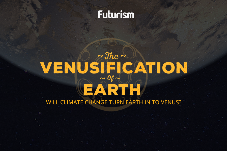 Could climate change transform Earth into Venus? [Infographic]