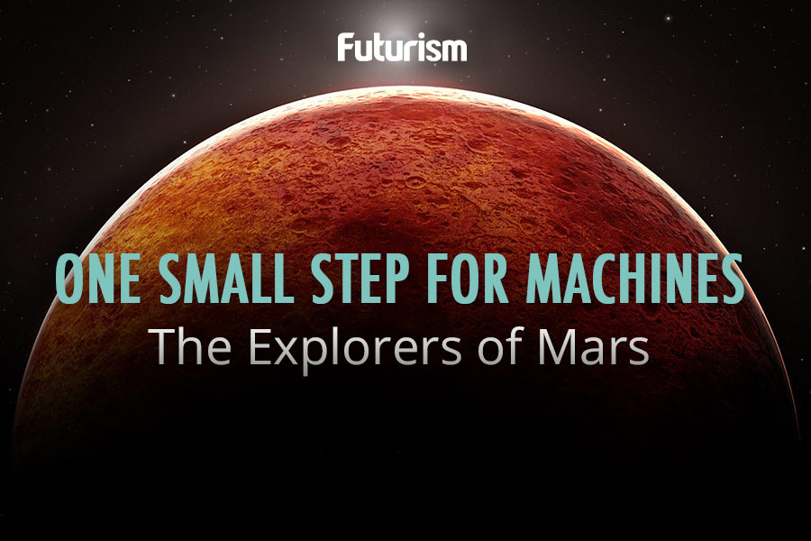 A Robotic Census Of Mars [Infographic]
