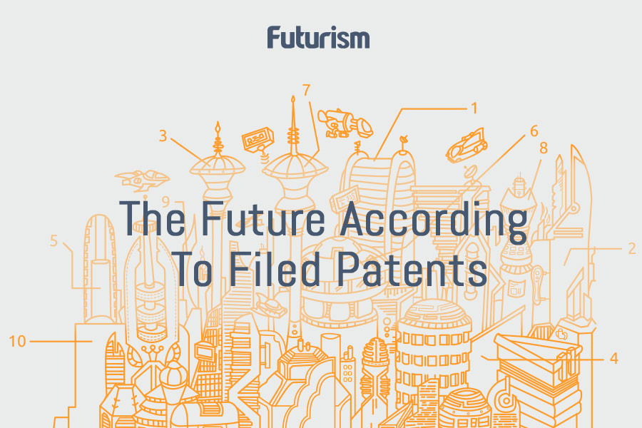 The Future According To Filed Patents [Infographic]