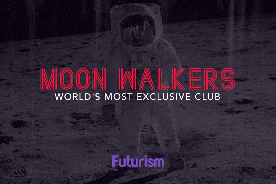 Moonwalkers: The World's Most Exclusive Club [Infographic]